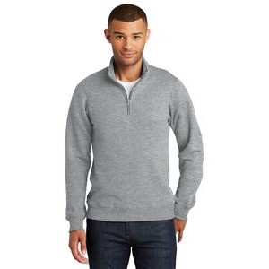 Port & Company® Men's Fan Favorite™ Fleece 1/4-Zip Pullover Sweatshirt