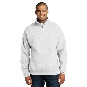 Jerzees® Men's NuBlend® 1/4-Zip Cadet Collar Sweatshirt