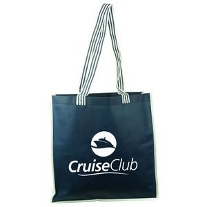 Cruiser Tote with Striped Terylene Handles
