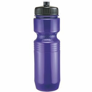 26 Oz. Jogger Bottle Push Pull Lid - Solid Colors