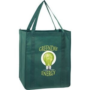 Recession Buster Non-Woven Grocery Tote Bag w/ Insert and Full Color (13