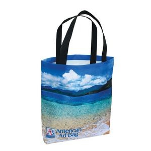 "Full Coverage American Made Polyester Bag w/ Full Color (13""x13"") - Sublimated"