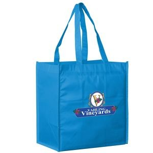 Recession Buster Non-Woven Tote Bag w/ Full Color (13