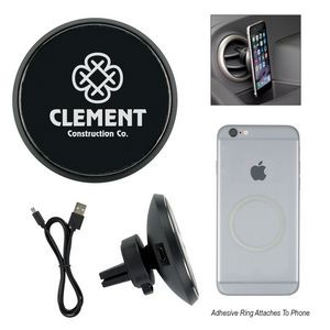 Magnetic Auto Vent Wireless Car Charger