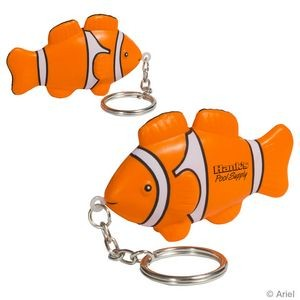 Clown Fish Stress Reliever Key Chain