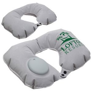Air Pump Inflatable Neck Pillow