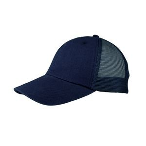 Washed Cotton Twill Trucker Cap